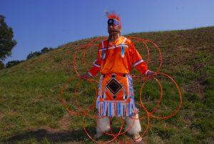 Lyndon Alec hoop dancing