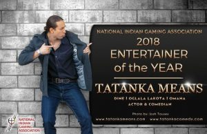 Tatanka Means, performer of the year in 2018